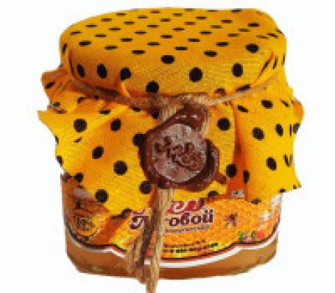 Мёд луговой (разнотравье) 500 гр